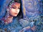 Josephine Wall Paitings - kb_Wall_Josephine-Spirit_of_Winter