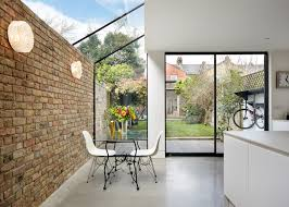 house 2 home design studio rise design studio adds glass extension to london house