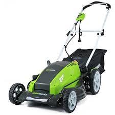 amazon com kobalt 13 amp electric lawn mower patio lawn u0026 garden
