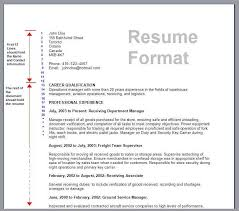 how to format resume how to format resume learnhowtoloseweight net