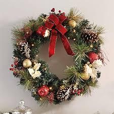 christmas wreath large christmas wreath amazon com