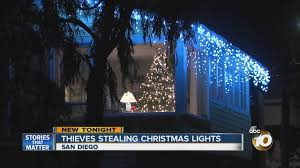 christmas lights san diego trend holiday lights stolen from san diego homes 10news com