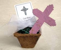 communion favors ideas 10 seed cross baptism favors plantable paper communion