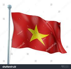 Viet Nam Flag Vietnam Flag Detail Render Stock Illustration 101851924 Shutterstock