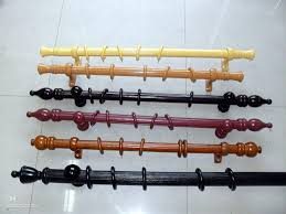 Wooden Brackets For Curtain Rods Wood Curtain Rod Projects
