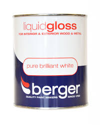 Exterior Metal Paint - liquid gloss 1 25 l pure brilliant white interior exterior wood
