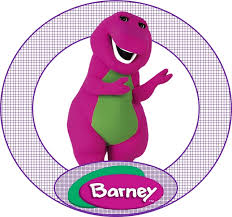 69 barney party stuff images barney party