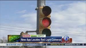 red light cameras sacramento new app locates red light cameras 6abc com