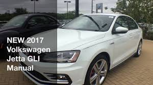 New 2017 Volkswagen Jetta Gli Manual Youtube