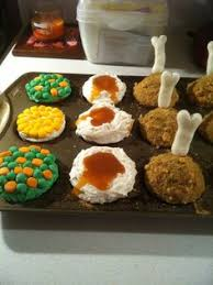 thanksgiving cupcakes baking and cooking