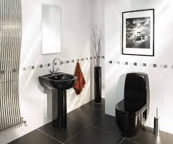 Black And White Modern Bathroom by Black And White Bathroom Decorating Ideas Christmas Lights