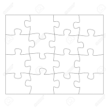 template 12 puzzle pieces template football defence