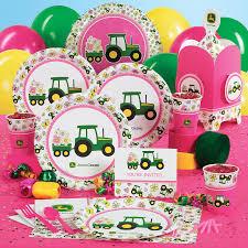 John Deere Kids Room Decor by John Deere Pink Birthday Party Supplies Kinda Cute Huh Lol