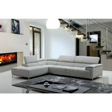Gray Leather Sectional Sofas Light Gray Leather Light Gray Leather Sectional Thedropin Co