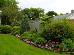 pretty flower garden ideas fence stock photo beautiful flower garden white picket fence