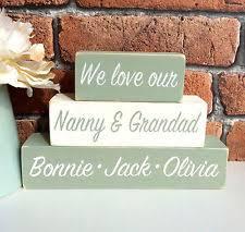 grandparent plaques unbranded grandparents home décor plaques signs ebay