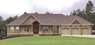 house plans craftsman ranch craftsman ranch traditional house plan 50264 craftsman ranch