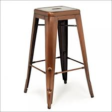 dining room amazing industrial swivel stool copper bar stools