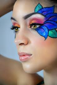 Unicorn Makeup Halloween by Best 25 Flower Makeup Ideas Only On Pinterest Hippie Face Paint