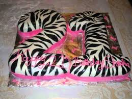 zebra print 21st bday cake youtube