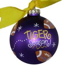lsu tigers ornament longhorns and tigers oh my