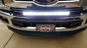 Led Light Bar Driving Lights by Light Bar Done Ford Truck Enthusiasts Forums