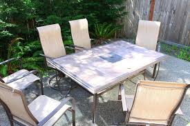 tile top patio table and chairs tile patio table glass tile top patio table tile patio table frame