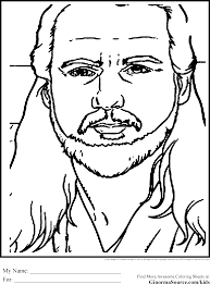 star wars coloring pages qui gon jinn coloring pages pinterest