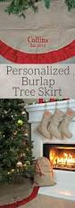the 25 best burlap tree skirt ideas on pinterest rustic