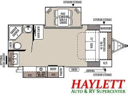 horse trailer living quarter floor plans 2017 forest river rockwood ultra lite 2304ds travel trailer