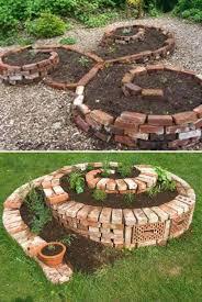 How To Start A Garden Bed Best 25 Brick Garden Ideas On Pinterest Spiral Garden Garden