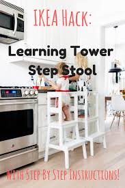 kitchen islands diy kitchen stools learning tower alternative by