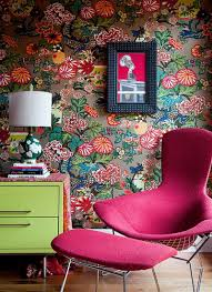 Beautiful Examples Of What Happens When You Utilize Floral - Poppy wallpaper home interior