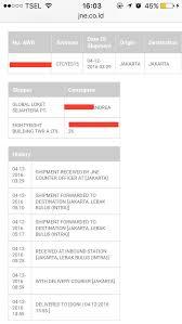 Jne Tracking Ketidakprofesionalan Shipping Tiket Dwp Oleh Loket Dan Jne