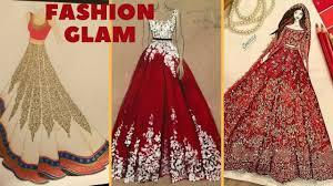 fashion sketch glitter dress illustration fashion sketches of
