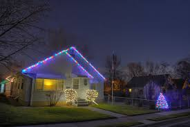 Christmas Lights On House by Flagpole Christmas Lights Christmas Lights Decoration