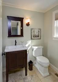 half bath traditional half bath remodel crown molding tile floor