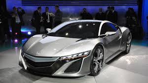 Acura Nsx Supercar Reborn As Hybrid Concept Roadshow