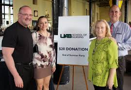 uab of nursing news a new bov member and a new fundraiser
