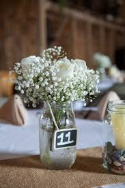 baby s breath centerpiece white and baby s breath centerpiece