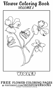 50 best free flower coloring pages images on pinterest flower