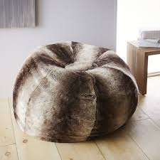 magnificent faux fur bean bag chair on styles of chairs with