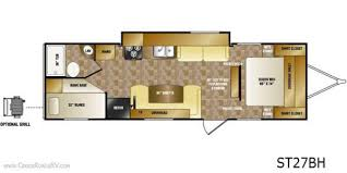 sunset trail rv floor plans 2013 crossroads sunset trail 270bh travel trailer indianapolis in
