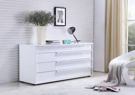 High Gloss White Bedroom Furniture by Bedroom Furniture Extra Wide White Dresser Chest Of Drawers For