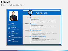 powerpoint resume template how to make a resume in powerpoint