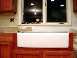 farmhouse sink installation kitchen sink installation full size of