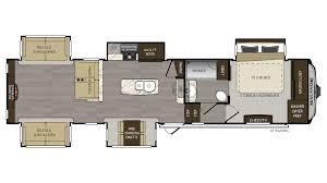 Bighorn Floor Plans 2017 Keystone Avalanche 370rd Model