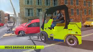 Forklift Truck Driver Jobs City Police Forklift Driver Simulator Android Apps On Google Play