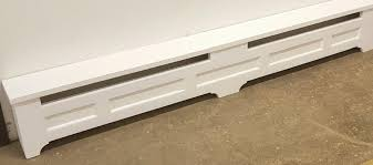 Baseboard Dimensions Tips Diy Baseboard Heater Covers For Your Living Space