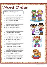 esl printable word games for adults word order 1 worksheet free esl printable worksheets made by teachers